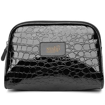 Shiny Crocodile Make Up Bag