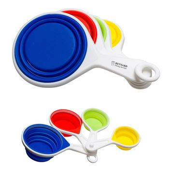 Pop Out Silicone Measuring Cups - Personalization Available