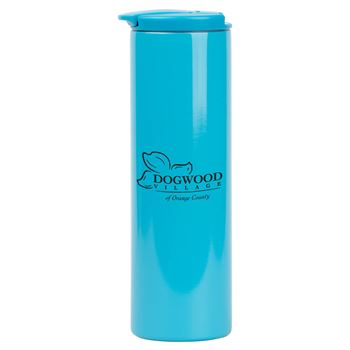 Stainless Steel Colored Tumbler 16-oz. - Personalization Available