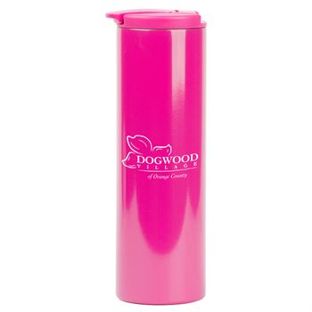 Stainless Steel Colored Tumbler - Personalization Available
