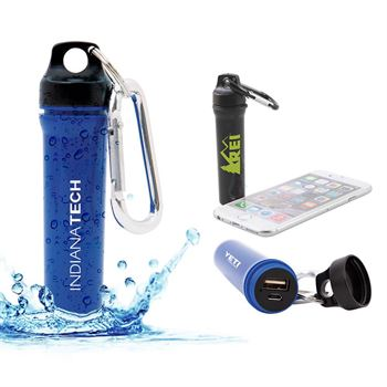 Water-Resistant Power Bank - Personalization Available