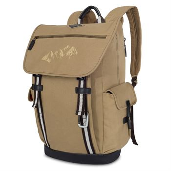 Ridge Cotton Computer Backpack - Personalization Available