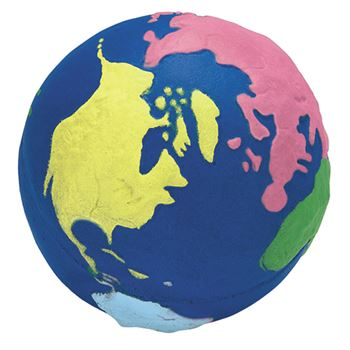 Squeezies Multi-Color Earth Stress Reliever