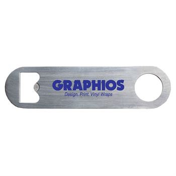 Mini Pub Stainless Steel Bottle Opener - Personalization Available