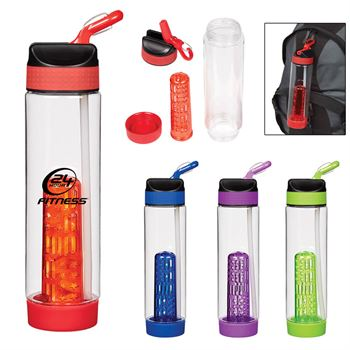 Tritan™ Fresh Fusion Carabiner Bottle 25-oz. - Personalization Available