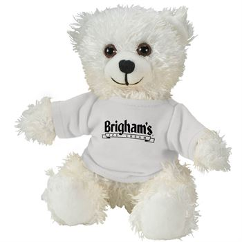 Cuddliez White Bear - Personalization Available