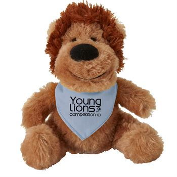 Fuzzy Friend Lion - Personalization Available