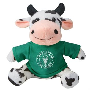 Fuzzy Friends Cow - Personalization Available