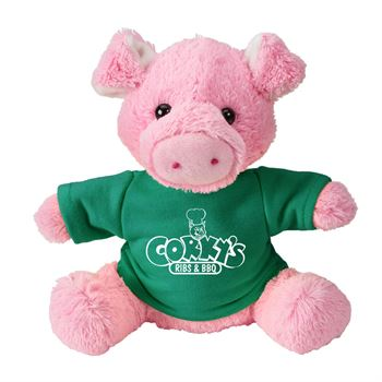 Fuzzy Friends Pig - Personalization Available