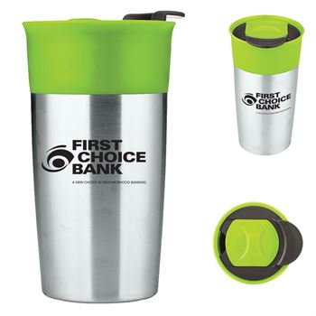 18-oz. Two-Tone Double Wall Insulated Tumbler - Personalization Available