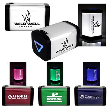 UL® Lighted Power Bank - Personalization Available