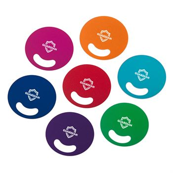 Circle-Shaped Fan With Die-Cut Handle - Personalization Available