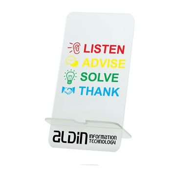 Acrylic Cell Phone Stand - Personalization Available