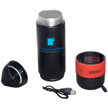 13 oz. Bluetooth Speaker Vacuum Water Bottle