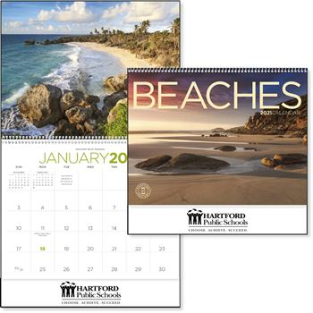 Beaches 2021 Calendar - Personalization Available
