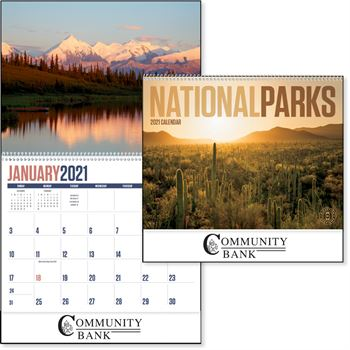 National Parks 2021 Calendar- Personalization Available