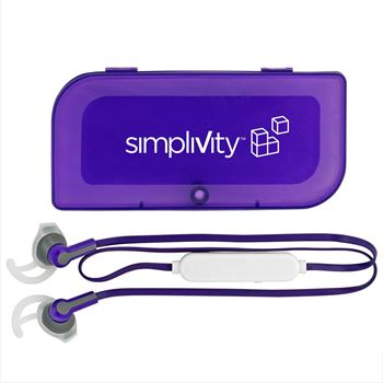 Magnetic Sporty Bluetooth® Earbud Set - Personalization Available