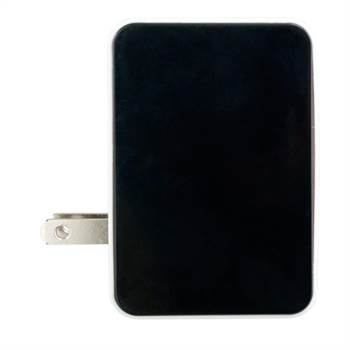 UL® Metallic 4 Port USB Folding Wall Charger - Personalization Available