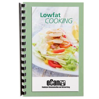 Low-Fat Cooking Cookbook - Personalization Available