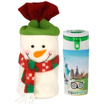 Full-Color Holiday Bottle = Personalization Available