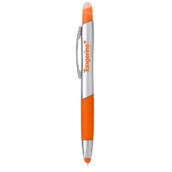 Trey Highlighter with Stylus Pen - Personalization Available