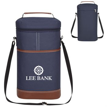 Double Wine Kooler Bag - Personalization Available