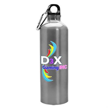 Digital Aluminum Water Bottle 25-oz. - Personalization Available