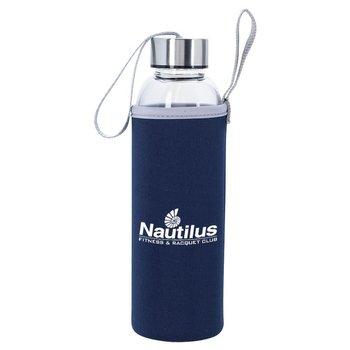 Aqua Pure Glass Bottle 18-oz. - Personalization Available