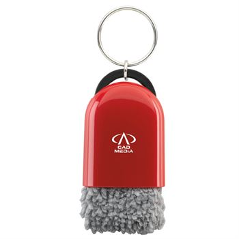 Cool Tech Cleaner With Keyring - Personalization Available