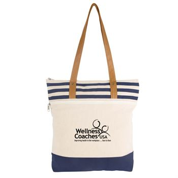 Cora Lane Cotton Tote - Personalization Available