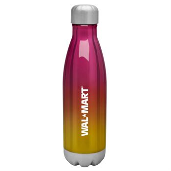 h2go Force Ombre 17-oz. Stainless Steel Bottle - Personalization Available