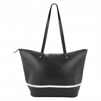 Iconic Metallic Accent Tote - Personalization Available