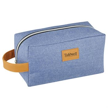 Heathered Toiletry Bag - Personalization Available
