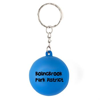 Smiley Squishy Keychain - Personalization Available