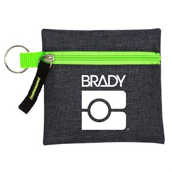 Grey Techie Pouch - Personalization Available