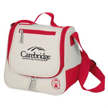 Coleman® 8-Can Saddle Bag Cooler - Personalization Available
