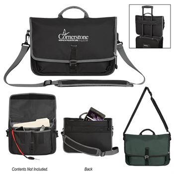 Tech Messenger Bag - Personalization Available