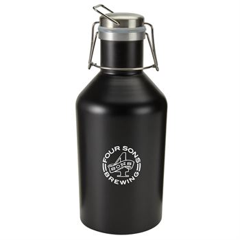 Stainless Steel Growler 64-oz. - Personalization Available