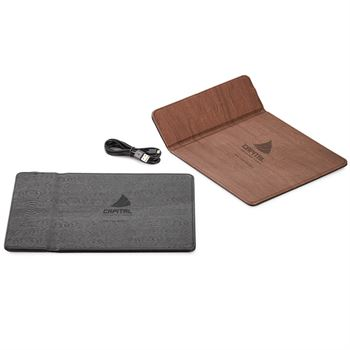 Wireless Charger Mouse Pad - Personalization Available