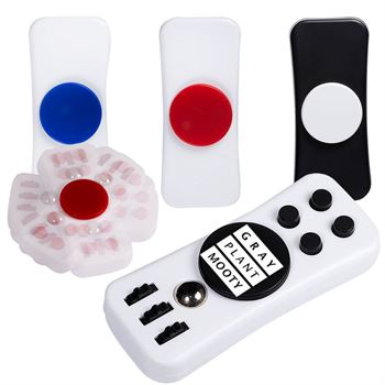 PromoSpinner™ Duo Fidget Toy - Personalization Available