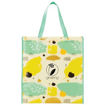 Mod Laminated Shopper Tote - Personalization Available