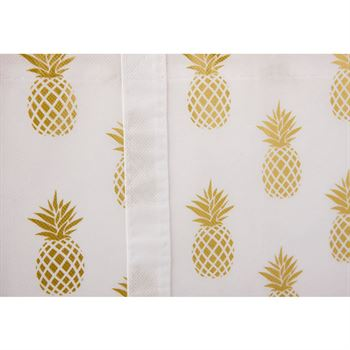 Pineapple Laminated Shopper Tote - Personalization Available