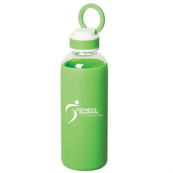Queensway 17.5-oz. Borosilicate Glass Bottle - Personalization Available