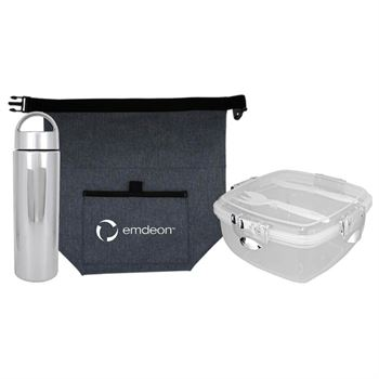 G Line Voyager Metallic Lunch Set - Personalization Available