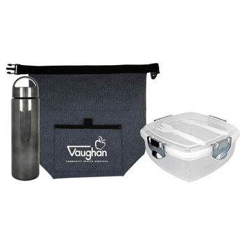 G Line Voyager Metallic Lunch Set