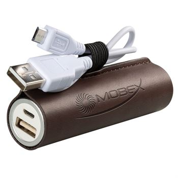 Tuscany™ Cylinder Power Bank - Personalization Available