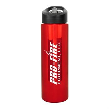 Pop Up Metallic Bottle 24-oz. - Personalization Available