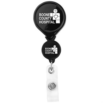 Double Up Round Badge Reel