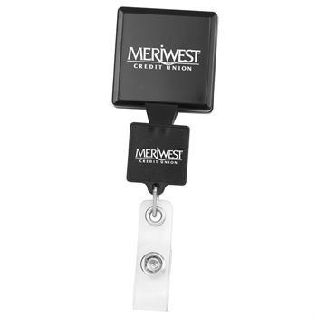 Double Up Square Badge Reel