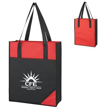 Jumbo Colored Tote Bag - Personalization Available